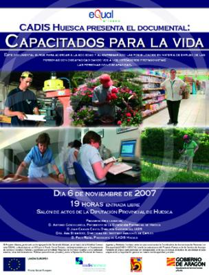 Cadis-Huesca presenta el Documental: Capacitados para la Vida